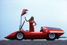 Pininfarina Fiat Abarth 2000 Scorpio concept car, 1970.