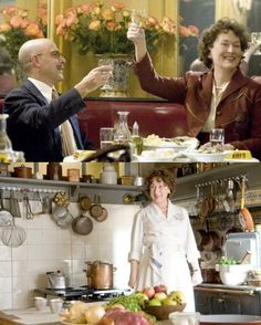 Another fave- Julie and Julia (I loved the Julia part the best). Julia Child is an inspiration to me.