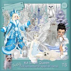 ScrapGrafikShop: PU Kit Snow Queen
