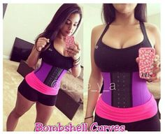 Dreya has Bombshell Curves! :) Add the Sport Waist Cincher to your active lifestyle routine. Perfect for your waist training needs!