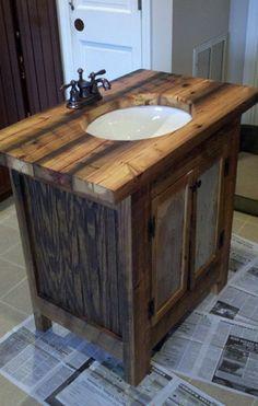 badezimmer möbel ideen waschbecken mit unterschrank aus holz