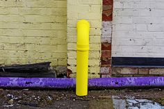 yellow pipe, via Flickr.