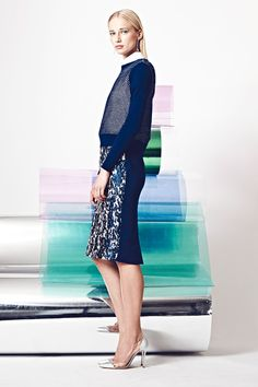 """Nonoo   Resort 2015 Collection   Style.com """"A career woman no longer needs to wear a power suit"""""""