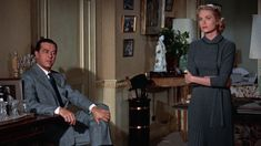 Dial M for Murder 1954-Ray Milland and Grace Kelly