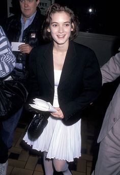 Winona Ryder, March 25, 1989