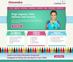 $49.95 Alexandra is a kids WordPress theme designed for the Genesis Framework from StudioPress. It is an ideal child theme for childcare centers and daycares, preschools, and Montessori schools. Alexandra is an easy to use premium WordPress theme that is mobile friendly and responsive.  Alexandra features five different color schemes in primary or pastel colors, as well as three different border options. Templates include a home page, blog page, inner page template, and individual posts...