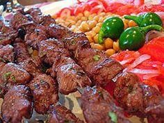 lamb kebabs...for everyone Azerbaijan