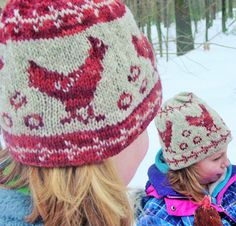 Rhode Island Red hat : Knitty.com - First Fall 2015