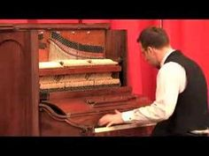 This pianist is wonderful to listen to! His fingers move so quick it mesmerizes you. ▶ Blue Danube Waltz - Ethan Uslan