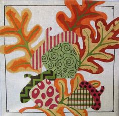 Machelle Somerville Needlepoint - Fall Festival