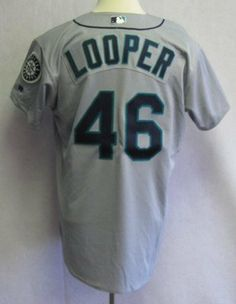2003 Seattle Mariners Aaron Looper #46 Game Issued Gray Away Jersey - Game Used MLB Jerseys by Sports Memorabilia. $156.13. 2003 Seattle Mariners Aaron Looper #46 Game Issued Gray Away Jersey
