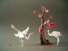 Incríveis origamis de Akira Yoshizawa | bocaberta.org