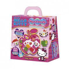EPOCH AQUABEADS Hello Kitty Bastelbox mit 300 Perlen 79478 - Bonuspunkte sammeln, Rechnungskauf, DHL Blitzlieferung!