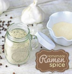Great Ramen Spice Recipe!!  All the spices that you need to make Ramen at home!!