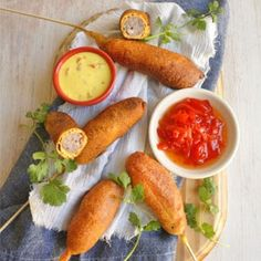 South African style corn dogs