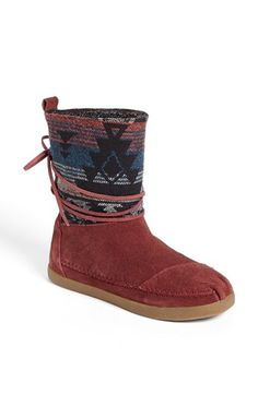 TOMS 'Nepal - Jacquard' Boot (Women) available at #Nordstrom