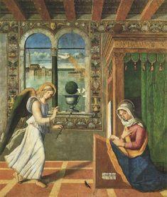 Francesco di Simone da Santacroce - Annunciazione