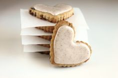 Cinnamon Raisin cut out Cookies with Cinnamon Icing from @createdbydiane