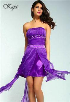 KAJA Dlouhé dámské šaty, společenské šaty, plesové šaty