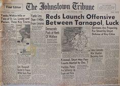 The Johnstown Tribune - World War II: July 15, 1944: Reds Launch Offensive Between Tarna...