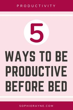 Being more productive before bed is something that everyone can benefit from. This post will show you 5 things that you can do to make you more productive before bed. This can lead to lower stress levels, a better sleep and a more relaxed mind. Organisation Hacks, Storage Organization, Before Bed, Productivity Hacks, Aberdeen, 5 Things, 5 Ways, You Can Do, Benefit