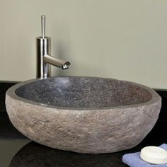 Carving A Stone Sink May Be Easier Than You Think | Sinks, Stone And Easy