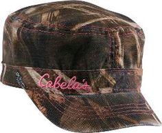 Cabela's: Cabela's Women's Camo Military Cap