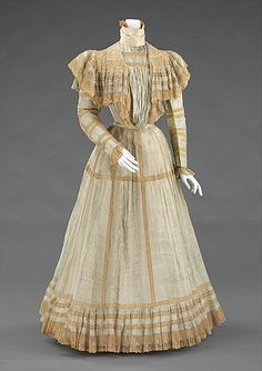 Afternoon Dress #1900 #1900s #French
