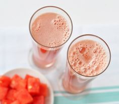 Cucumber and watermelon coconut coolers | including cake