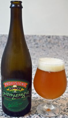 The Bruery's Provisions Series: Snicklefritz - Wow there are a ton of flavors mixed into this beer, but somehow, it all comes together really nicely. On top of the bast Belgian Strong Pale Ale, there is oak, juniper, coriander, ginger, and a few different types of citrus zests. That is quite a list and really a testament to The Bruery and the creator of the beer for pulling it all together somehow.