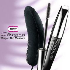 Just discovered the feather-inspired brush in Avon's new SuperExtend Winged Out Mascara! #AvonRep