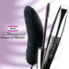 Extiende tus pestañas hacia una nueva dimensión con el rímel SuperExtend Winged Out #AvonRep