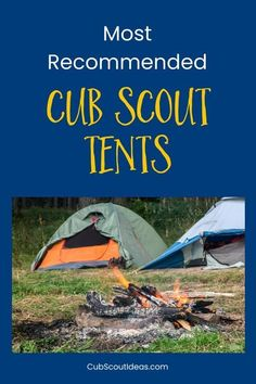Find out which tents are most recommended by Cub Scout families. They're super easy to set up, so your Scouts can help out. And they're the perfect addition to your Cub Scout camping gear. Popular and best ideas with kids.  Tips, essentials and supplies f