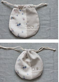 Lined Drawstring Bag Tutorial. How to Sew DIY Photo Tutorial