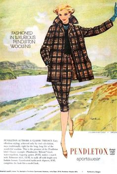 Pendleton Sportswear, August 1959 por The Bees Knees Daily    Por Flickr: Featured in The Ladies' Home Journal, August 1959