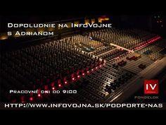 Dopoludnie na InfoVojne s Adrianom 17.6.2019 - YouTube Roman, Music Instruments, Youtube, Musical Instruments, Youtubers, Youtube Movies