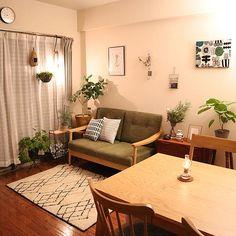 Small Apartment Living, Home Living Room, Interior Exterior, Interior Design, Japanese Home Decor, Aesthetic Room Decor, Bedroom Decor, House Design, Ideas