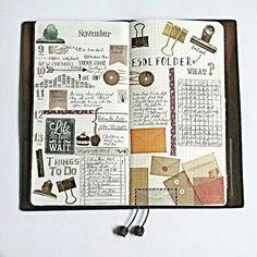 Midori Traveler's Notebook                                                                                                                                                     More