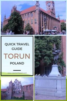 torun poland quick travel guide Quick Travel, Poland Travel, Old Town Square, Adventure Activities, Heritage Site, Tour Guide, Solar System, The Locals, Travel Guides