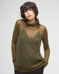 Jigsaw - Sheer Mohair Sweater