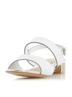 Womens *Head Over Heels by Dune Silver 'Navilla' Sandals- Silver