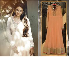 South Actress Parul Yadav spotted looking peach perfect in a Kanika Kedia anarkali