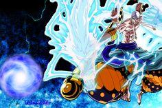 anime, One Piece, Anime Boys, Lightning, Enel, Gan Fall, Pierre