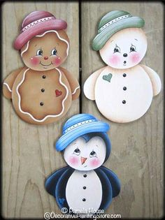 Roly Poly Ornaments Pattern by Pamela House