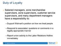 "Walmart's Anti-Union Training Documents Demand ""Loyalty"""