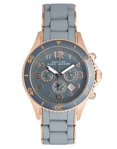 Marc By Marc Jacobs | Marc By Marc Jacobs - Montre-bracelet chronographe - Or rose et gris