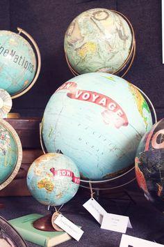 I think I'll spice up my globe #DIY