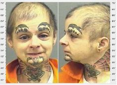 Looks like a little kid to me======These 40 Mugshots Will Haunt Your Dreams For Years. The Last One Especially... OMG.