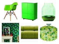 El verde es el color del año