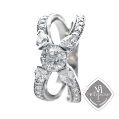 Global Wealth Trade Corporation - FERI Designer Lines Bridal Rings, Wedding Rings, Gold And Silver Rings, Silver Engagement Rings, Our Wedding, Wedding Bells, Luxury Jewelry, Bridal Collection, Heart Ring